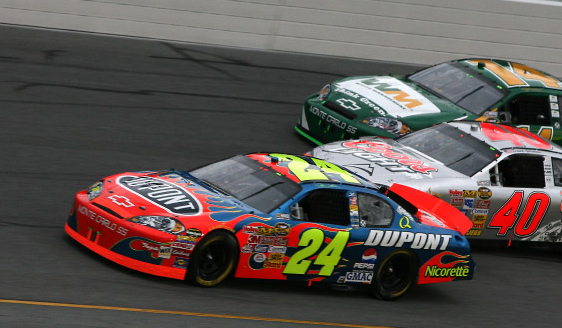 2007 Jeff Gordon 24 Dupont