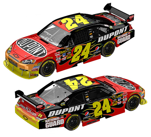Jeff Gordon Chevrolet >> 2010 Jeff Gordon #24 Dupont Diecast