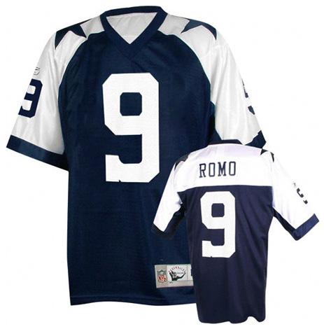 buy online 6f14f 3556c Tony Romo Football Jersey - Tony Romo #9 Dallas Cowboys ...